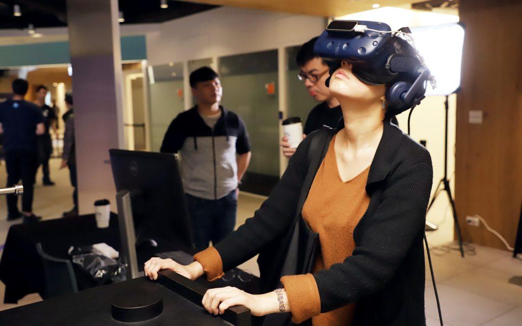 現場體驗 : VR數位互動