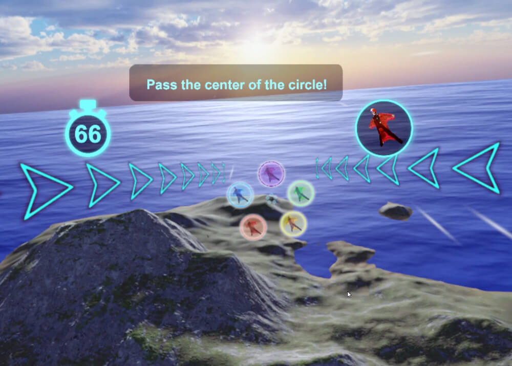 VR沉浸式跳傘體驗